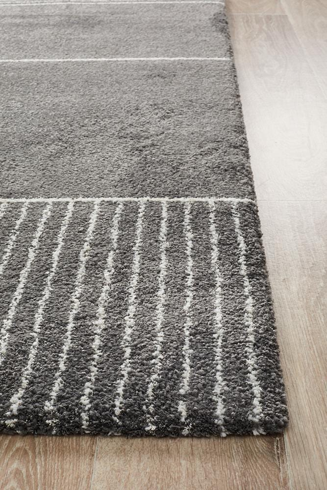 Broadway-Rug Culture Broadway 935 Charcoal