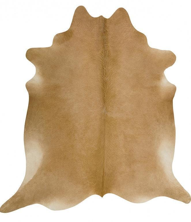 Cowhide-Exquisite Natural Cow Hide Beige