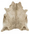 Cowhide-Exquisite Natural Cow Hide Champagne