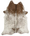Cowhide-Exquisite Natural Cow Hide Salt & Pepper Brown
