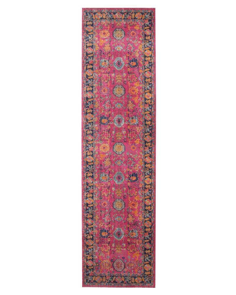 Eternal-Whisper Corners Pink Rug