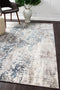 Kendra-Kendra Casper Distressed Modern Rug Blue Grey White