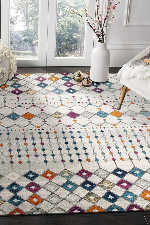 Mirage-Peggy Tribal Morrocan Style Multi Rug