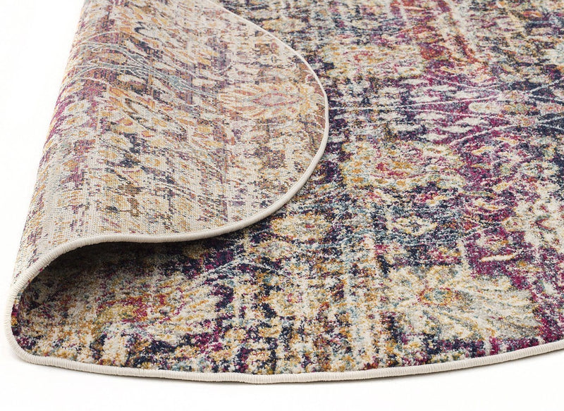 Mirage-Zolan Transitional Multi Round Rug