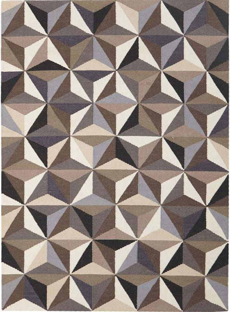 Nomad-Dimensions Flat Weave Rug Grey