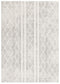 Oasis-Oasis Salma White And Grey Tribal Rug