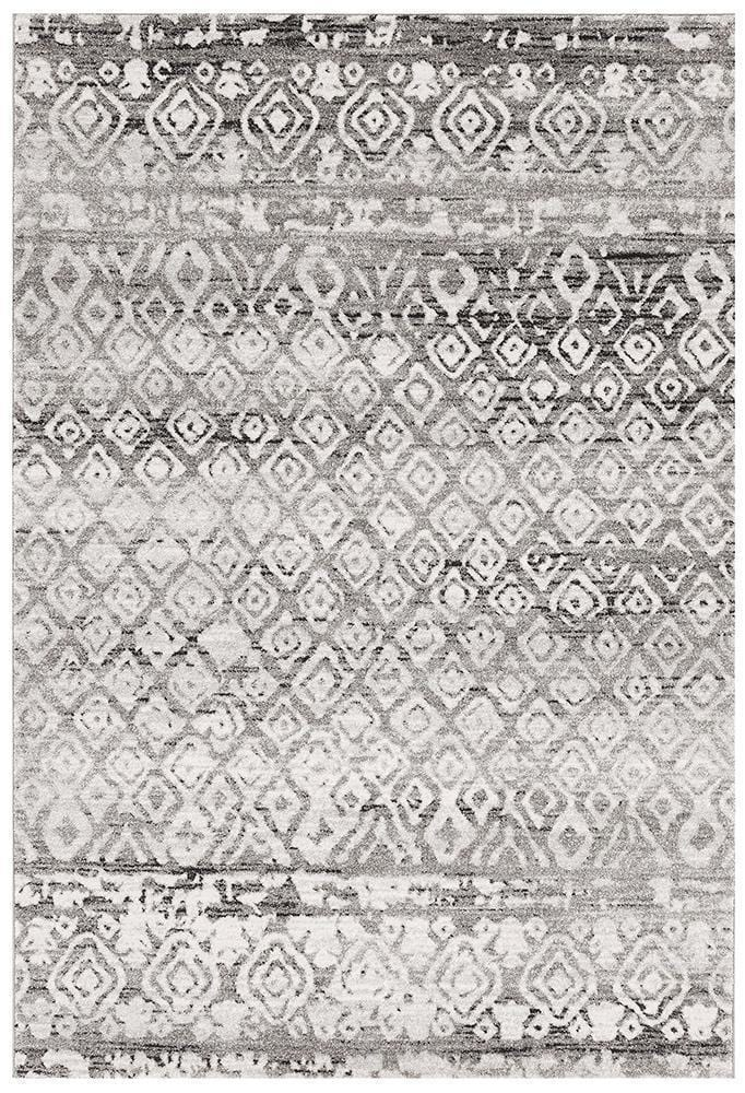 Oasis-Oasis Zakira Dark Grey Tribal Rug