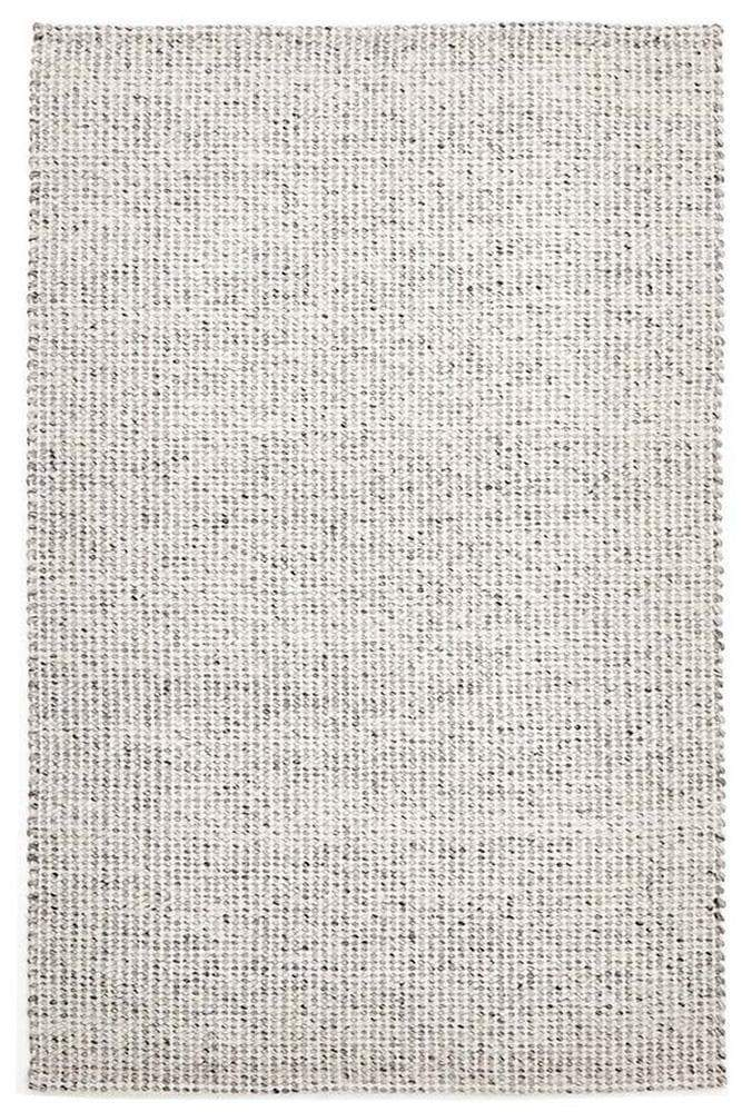 Skandi-Carlos Felted Wool Rug Grey Natural