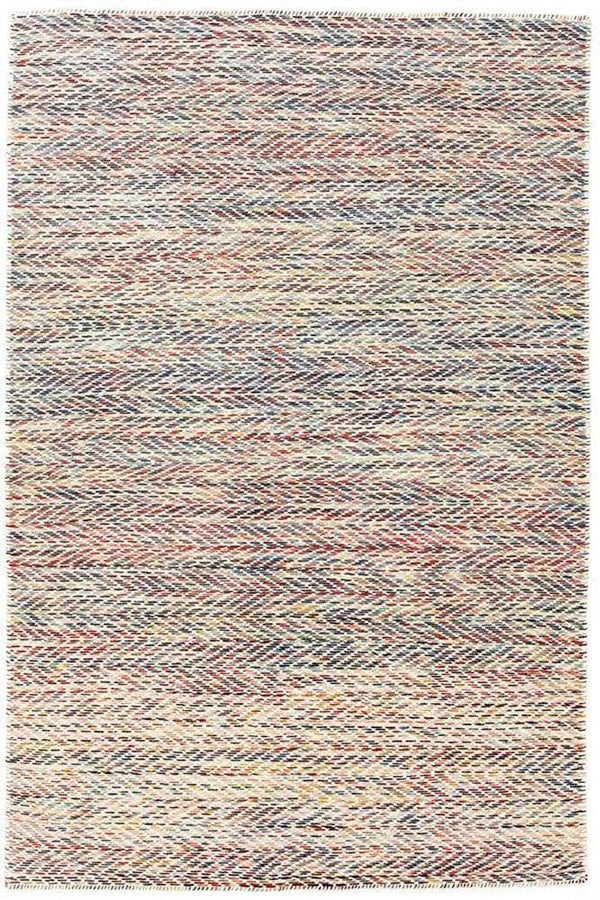 Skandi-Roland Herringbone Multi Coloured Rug