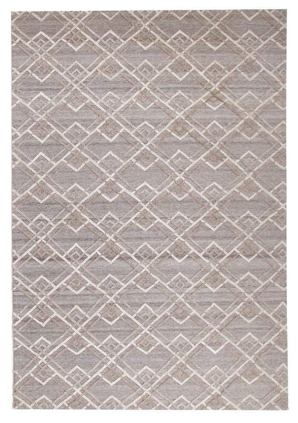 Visions-Winter Silver Stream Modern Rug