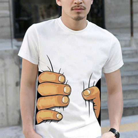 3D Life-Like Hand or Bone T-Shirt
