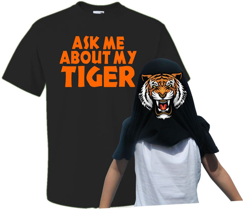 Men Ask Me About My Tiger Flip T-Shirt