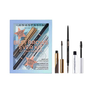 BEST BROWS EVER KIT (MEDIUM BROWN) - The Makeup Room