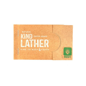 BODYLATHER PAPER SOAP - The Makeup Room