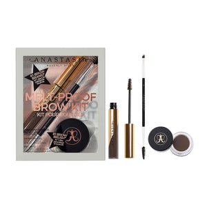 MELT-PROOF BROW KIT (MEDIUM BROWN) - The Makeup Room