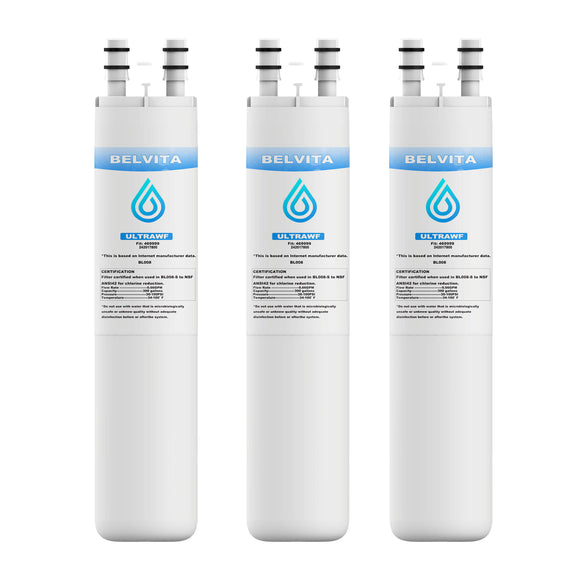 Refrigerator Water Filters Compatible with ULTRAWF  Pure Source Water Filters Replacement Ultrawf - 3 Pack - Best Home products shop