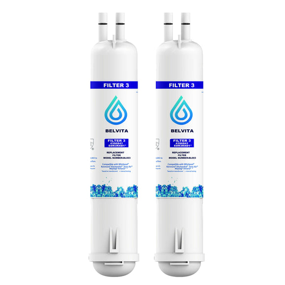 Whirlpool EDR3RXD1 Everydrop Refrigerator Water Filter 3 (2-pack) - Best Home products shop