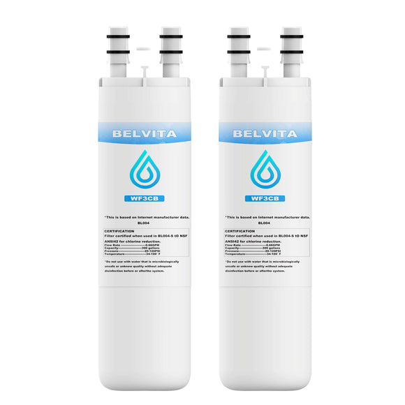 Refrigerator Water Filter Replacement, Compatible with Pure source 3 Refrigerator WF3CB Water Filter - Best Home products shop