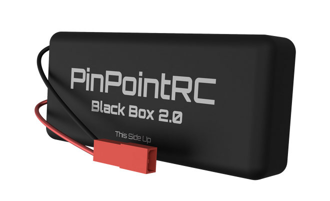 Black Box 2.0 by PinPointRC. Motorcycle tracker, electric bike tracker, electric skateboard tracker