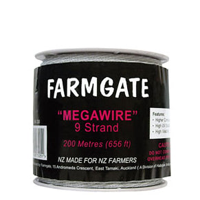 Megawire 200m, 5mm, 9 S/S strands (MW200)