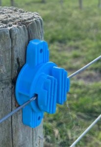 Insulator Blue up to 6mm wire or polybraid