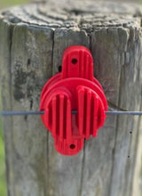 Load image into Gallery viewer, Insulator Red up to 6mm wire or polybraid