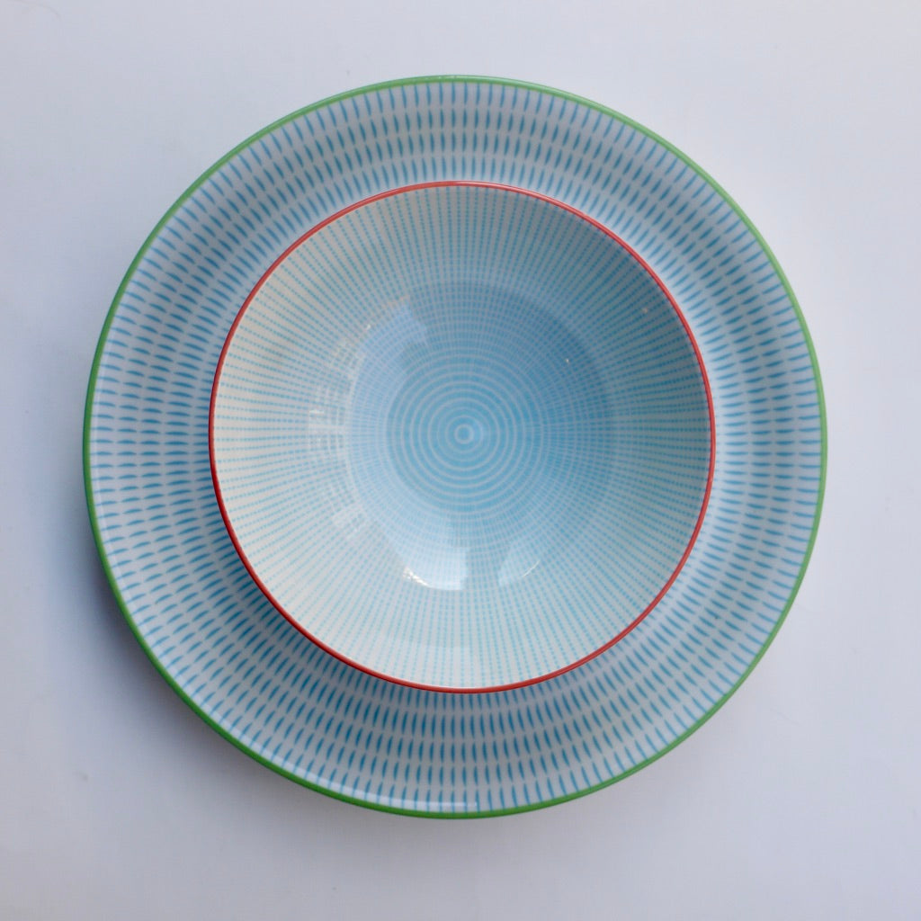 Sen Aqua dinner set of two