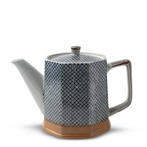 Textile pattern Tea Pot