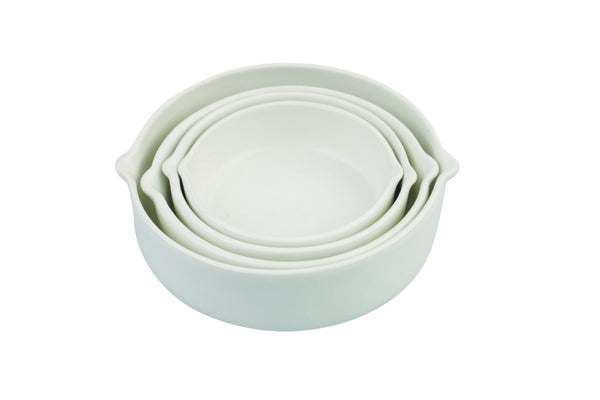 Stoneware measuring cups s/4