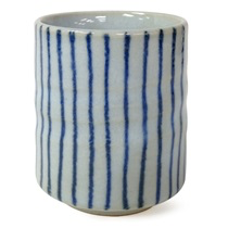 Striped Tea Cup
