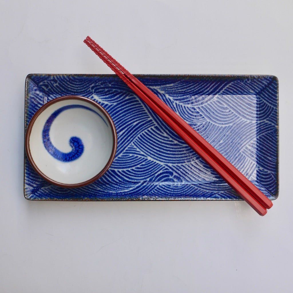 Blue Wave Sushi set