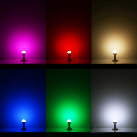 Colored LED Bulbs
