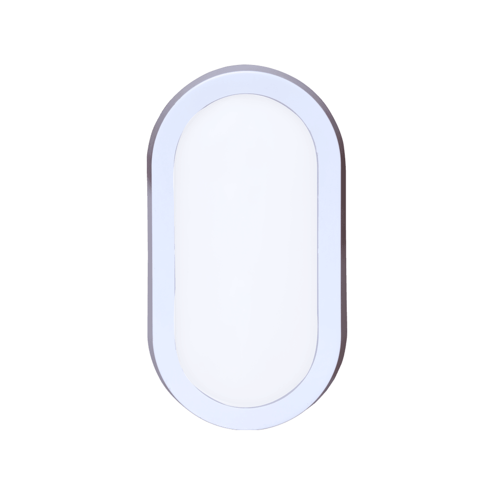 10 Watt LED Bulkhead Light/Indoor Bulkhead Lights (Pack of 6) for Home/Residential areas, outdoor and indoor, business and industrial premises