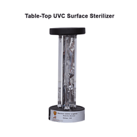 Load image into Gallery viewer, Table-top UVC Surface Sterilizer(Round, Square) Germicidal Light Tabletop Room Sanitizer Ultraviolet Tabletop Lamp for bedrooms/dining areas/shops/school classes/cabins/kitchens/bathrooms/restaurants/waiting lounges/recreation areas