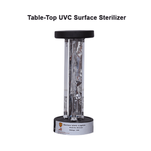 Table-top UVC Surface Sterilizer(Round, Square) Germicidal Light Tabletop Room Sanitizer Ultraviolet Tabletop Lamp for bedrooms/dining areas/shops/school classes/cabins/kitchens/bathrooms/restaurants/waiting lounges/recreation areas