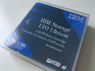 IBM 00V7590 LTO Ultrium 6 Tape Cartridge - 2.5TB/6.25TB (BaFe)