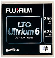 Fuji 16310732 LTO Ultrium 6 Tape Cartridge - 2.5TB/6.25TB (BaFe)