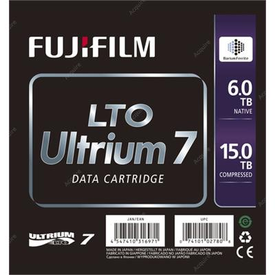 Fuji 16456574 - 6.0/15.0TB LTO-7 Ultrium Barium Ferrite data tape cartridge