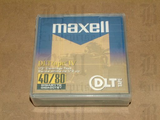 Maxell 40GB/80GB DLT-IV Backup Tape (Retail packaging)