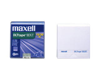 Maxell DLT III XT Data Cartridges 15/30 GB