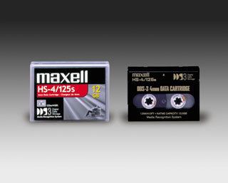 Maxell 200025 4mm DDS-3 Backup Tape Cartridge (12GB/24GB) Retail Pack