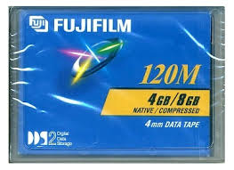 Fuji 26047120 4mm DDS-2 Backup Tape Cartridge (4GB/8GB Retail pack)