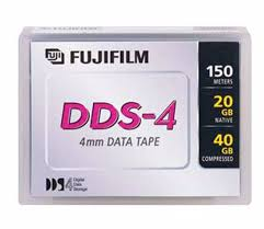 Fuji 26047350 4mm DDS-4 Backup Tape Cartridge (20GB/40GB Retail Pack)
