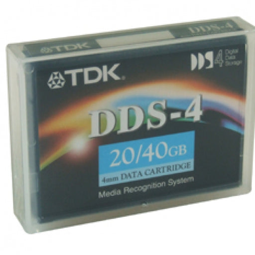 TDK 27505 4mm DDS-4 (DC4150) Backup Tape Cartridge (20GB/40GB 150m Retail Pack)