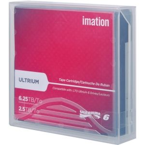 Imation 29080 LTO Ultrium 6 Tape Cartridge - 2.5TB/6.25TB (Metal Particle)