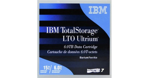 IBM 38L7302 LTO Ultrium 7 Backup Data Cartridge (6TB/15TB) Retail Pack