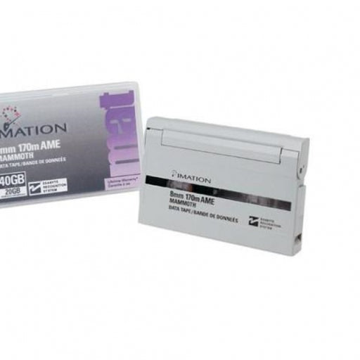 Imation 41262 8mm-170m Backup Tape Cartridge (20GB/40GB Retail Pack)
