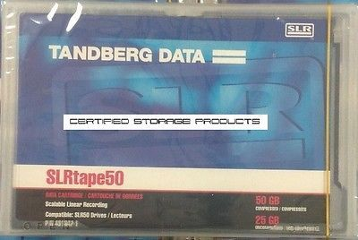Tandberg Data 25GB/50GB SLR50 Backup Tape (Retail Packaging)