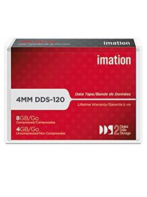 Imation 43347 4mm DDS-2 Backup Tape Cartridge (4GB/8GB Retail Pack)