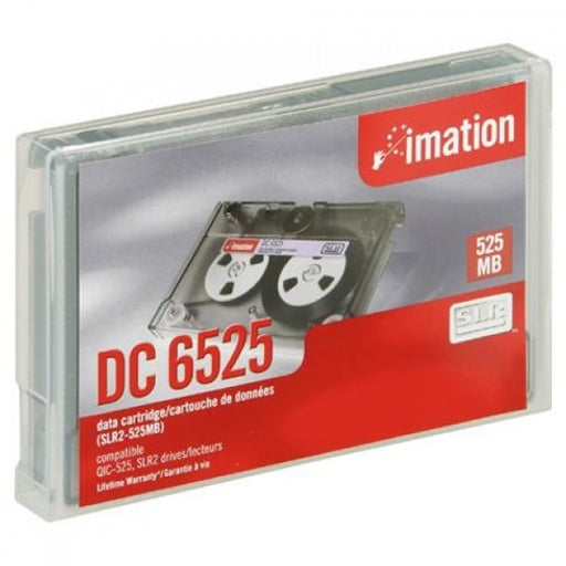 Imation DC6525, 5.25 in. Unformatted, 525MB, 1020 ft.